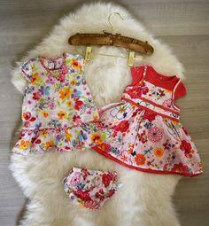 51a2d03d61378 lot 2 robes   Catimini + Clayeux + bloomer fille été 3 mois comme Neuf (