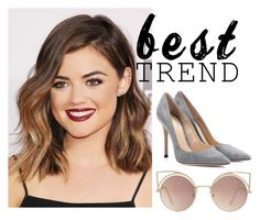 """""""Untitled #37"""" by sara-globevnik on Polyvore featuring Gianvito Rossi and MANGO"""