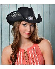 0110c04ae63 Bullhide Let s Get Loud Wool Cowgirl Hat Felt Cowboy Hats