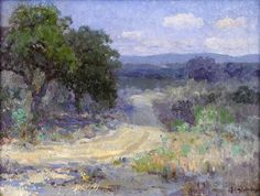 A Path Through the Texas Hill Country - Robert Julian Onderdonk
