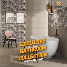 Morbitiles is a dedicated titles sourcing platform in India. We bridge the gap between Tiles Manufacturer, Architect and Builders. We make tiles procurement and selling journey simpler, smarter and faster! Wall Tiles Design, Tile Manufacturers, Bathroom Collections, Room Tiles, Living Styles, Platform, Interior Design, Space, Luxury