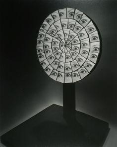 Berenice Abbott, Parabolic Mirror, 1958 Mythology of Blue