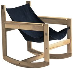 Rocking chair Pelicano - Objekto