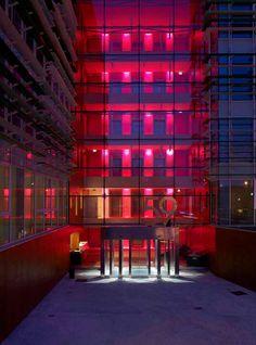 @Platek Light  at Genius Loci Architettura, Milan #light #red