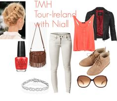 """TMH Tour-Ireland with Niall"" by foreveryoungonedirection ❤ liked on Polyvore"