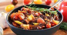 Grillsalsa med medelhavssmaker Kung Pao Chicken, Fruit Salad, Chili, Salsa, Grilling, Bbq, Soup, Ethnic Recipes, Spreads