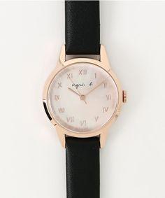 agnes b. FEMME (レディース)(アニエスベーファム)のLM02 WATCH(腕時計)|ブラック系その他