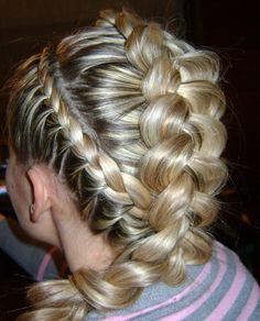 The idea of braid hairstyles Flair Hair, Hair With Flair, Hunger Games Makeup, Beauty Makeup, Hair Beauty, Natural Hair Styles, Long Hair Styles, Beautiful Hairstyles, Braided Hair
