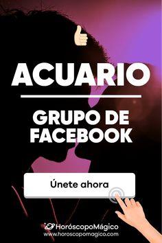 NO TE LO PIERDAS 🔴: Apúntate al grupo de facebook de los ACUARIO de HORÓSCOPO MÁGICO #acuario #facebook #grupo #predicciondiaria #horoscopo