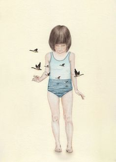 Magical illustrations by Tahel Maor, on the blog today: http://www.artisticmoods.com/tahel-maor/