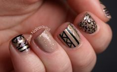 The Nailasaurus | UK Nail Art Blog: Sandy Skittle
