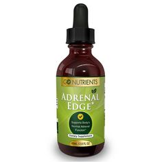 Adrenal Edge™ - Adrenal Fatigue Support Supplement & Cortisol Manager - 2 oz