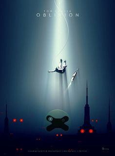 Oblivion - movie poster - sivadigitalart.deviantart.com