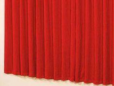 Cortina para Quarto/Sala Vermelho A Criativa - Capri 2,00x2,30m com as melhores condições você encontra no Magazine Siarra. Confira!