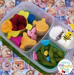 Biting The Hand That Feeds You: Pooh Bear Boxes in Celebrating the Works of A.A. Milne Through Food!