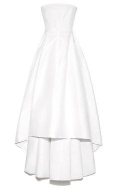 ROCHAS Strapless Silk Gazar Evening Dress $5,865($2,933 deposit)