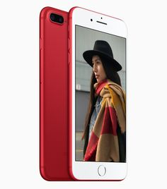 Those long-standing rumors about a red iPhone have finally been confirmed. This morning, Apple dropped a special edition red iPhone 7 and 7 Plus. Apple Iphone, Apple Desktop, Apple Inc, Red Apple, Red Campaign, Iphone 7 Plus Red, Macbook, Holster, Product Tester