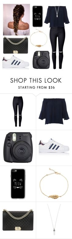"""Untitled #114"" by niih97 ❤ liked on Polyvore featuring WithChic, Kobi Halperin, Fuji, adidas, Casetify, Chanel and Marc Jacobs"