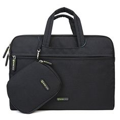 Laptop Briefcase Bag, Evecase 13 - 13.5 Inch Dual Layer Protection Tablet /Laptop Universal Sleeve Bag Carrying Case Briefcase with Handle + Pouch Case and Mouse Pad - Black Evecase http://www.amazon.com/dp/B00PC58ADC/ref=cm_sw_r_pi_dp_XMacxb1E8VW75