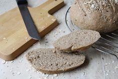 Celozrnný špaldový chlieb (bez kvasníc) | Hit je zdravo žiť Food And Drink, Bread, Brot, Baking, Breads, Buns