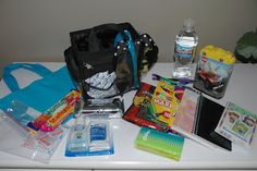 Prepared NOT Scared!: Preparedness Project - Travel Bag! Includes snacks, games and car bucks!!