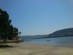 Playa Rio Sandeú...ria de Ferrol ..La Coruña
