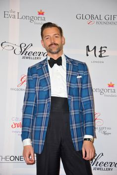 Patrick Grant in a very summery, alternative take on Black Tie.