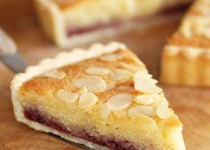 Today& recipe is for a classic British tart that can be served either at tea time or for dessert. The classic Bakewell Tart has a ri. Tart Recipes, Baking Recipes, Sweet Recipes, Fun Desserts, Delicious Desserts, Dessert Recipes, Sweet Pie, Sweet Tarts, Tarta Bakewell