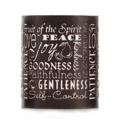 Celebrating Home OOH LA LAMP JACKET - FRUIT OF THE SPIRIT Metal. 4 1/2 x 5 1/4 inches.  Place orders now, will be processed Aug 1, 2014 bamaro2005@aol.com