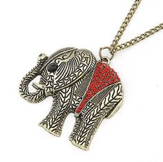 The Sparkled Elephant necklace / Stylish Accessories
