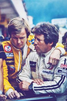 1978 JPS Team Lotus Ronnie Peterson and Mario Andretti