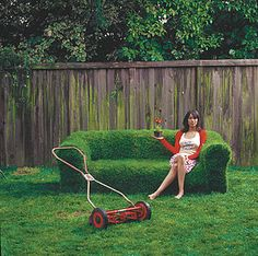 weird furniture | Weird Furniture: Sprout a Couch