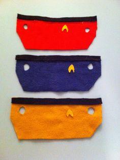 Between the Rabbit's Ears: Star Trek Guinea Pig Costumes - No Sew