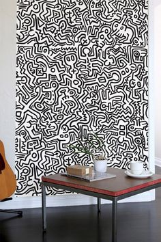 Blykk lyyzt pattern wall tiles maisons Carrelage keith haring