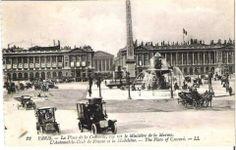 Place de la Concorde. 1908.