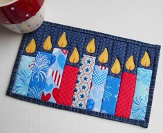 Sometimes it can seem that there isn't enough time to make handmade gifts or to decorate your table with quilted mats. But this is not ...