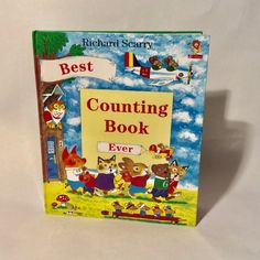Vintage Richard Scarrys The Best Counting Book Ever Reissue and Reprint Hardcover Like New Excellent inside and out Makes a great gift Richard Scarry, Bronx Zoo, Counting Books, 1970s, Finding Yourself, Vintage Items, Great Gifts, Joy, Illustrator