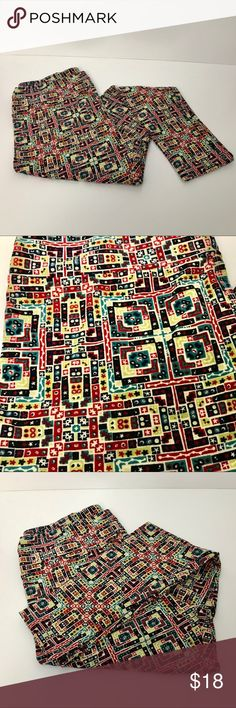 LuLaRoe TC leggings LuLaRoe TC (Tall:Curvy) leggings with super cute print. Lots of colors for Christmas or everyday. Only worn once. In excellent condition. Will consider reasonable offers LuLaRoe Pants Leggings