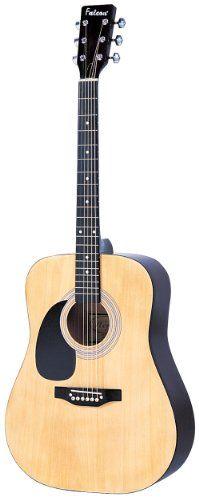 Falcon LFG100N Guitarra acústica para zurdos -  http://tienda.casuarios.com/falcon-lfg100n-guitarra-acustica-para-zurdos-color-natural/