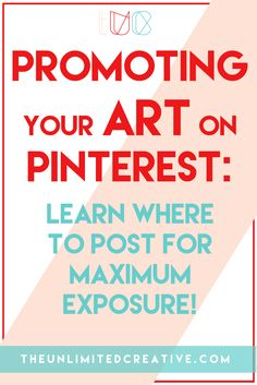 This is the first in a series of articles I'll be writing about promoting your art on Pinterest.  … Click to read more...