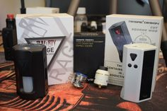 Just in... Rage Squonk Mod, Cut Squonk Mod and Mad Dog RDA and Lift kit from Desire Designs...