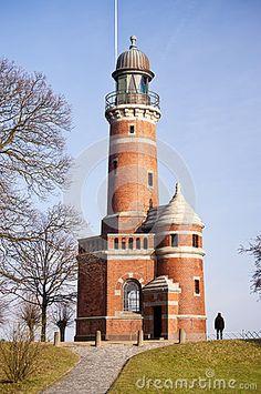 Lighthouse Kiel-Holtenau, Germany