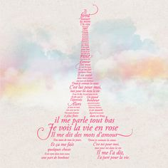 la vie en rose. One of my favorite songs <3 I want this to be one of the first songs we dance to.