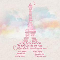 la vie en rose. One of my favorite songs <3