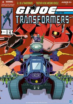 G.I.Joe and the Transformers, I think I have the first issue of this.