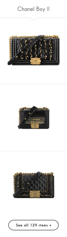 """Chanel Boy II"" by sakuragirl ❤ liked on Polyvore featuring bags, handbags, chanel, chanel handbags, embroidered purse, handbags bags, embroidery handbags, handbag purse, lamb leather handbags and hand bags"