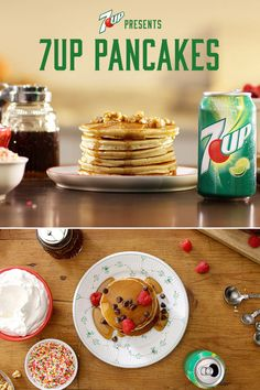 Whip up some 7UP Pancakes this week. A fresh look at an old crowd-pleaser. #7UPupgrade #contest