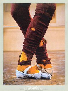 Leg Warmers Print by Harvey Edwards