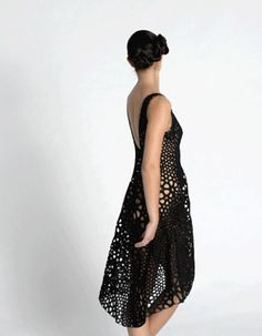 3ders.org - Kinematics creates natural flowing 3D printed dress | 3D Printer News & 3D Printing News