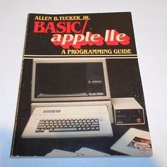 Vintage Computing BASIC Apple IIe Programming Guide Allen Tucker 1983 Softcover